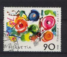Svizzera 1988 SG # 1155 L'ARTE MODERNA Usato # 3