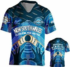 NSW state of origin indigenous Adult Jersey