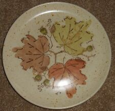 """Metlox Poppytrail  WOODLAND GOLD 8"""" Luncheon Plate Very Good Condition"""