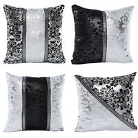 Cotton Linen Pillows Case Sofa Waist Throw Cushion Cover geometric Home Decor