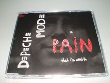 DVD SINGLE DEPECHE MODE A PAIN THAT I'M USED TO RARE EDITION JEWEL CASE !!!!!!