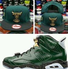 Matching New Era NBA Chicago Bulls 9Fifty snapback for Jordan 6 Champagne