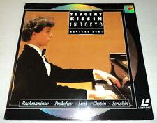 YEVGENY KISSIN In Tokyo:  Recital 1987 Laserdisc - Liszt Chopin Prokofiev et all