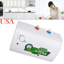 Tank Electric Hot Water Heater Household Bathroom Kitchen Convenient 30℃~65℃