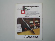 advertising Pubblicità 1974 PENNA AURORA HASTIL