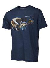 Savage Gear Cannibal T-Shirt Blue Melange S-XXL atmungsaktiv Fish eat Fish Motiv