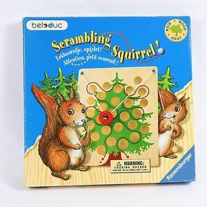 Scrambling Squirrel Game 2003 Ravensburger Fun Skill Game Ages 4-99 Never Played