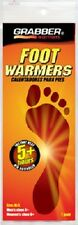 (6) pair GRABBER MYCOAL MED/LG FOOT WARMER INSOLES FWMLES