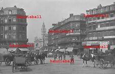 FOTO AK - LILLE (FLANDERN / FRANKREICH) RUE NATIONALE FELDPOST 1918 WK1