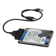 USB 2.0 to SATA 22 Pin Cable for 2.5inch HDD Hard Drive Solid State Drive MC