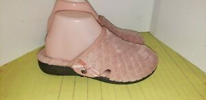 Vionic Pink Slippers Womans Size 6