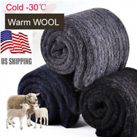 3Pairs US Mens Warm & Soft Comfort Wool Cashmere Dress Sock Winter Thick Socks