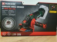 Parkside PWSA 20-Li B3 125mm Cordless Angle Grinder with battery bundle