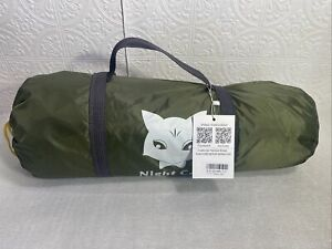 Night Cat Backpacking Tent for Single Layer 1 to 2 Persons, Army Green