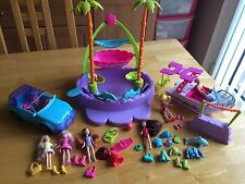 Polly Pocket Piscine tropicale Hors-Bord & Voiture