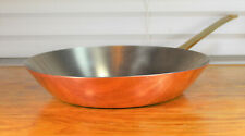 Vintage Paul Revere Ware USA Solid Copper Pot 10 Skillet Frying Pan Limited ED