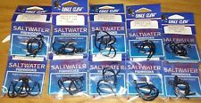lot 50 EAGLE CLAW LAZER SHARP BLACK SALTWATER live bait  fish HOOKS 7/0  317MGA