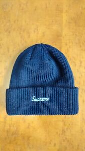 Supreme Loose Gauge Beanie FW20 Navy