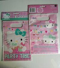 24 bolsas de botín Hello Kitty Fiesta De Cumpleaños Bolsa Botín Kids-Sanrio-mismo día Disp.