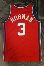 KEN NORMAN Los Angeles Clippers GAME USED WORN Champion Jersey NBA 92 93 Rivers