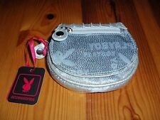 *NEW* Playboy Silver Ladies Coin Purse