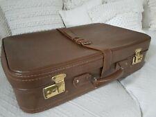 Real Vintage Retro LEDER Koffer Reisekoffer   * TOP *