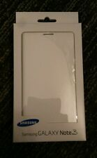 OEM Samsung Galaxy Note 3 Wallet Flip Cover White Case New Original