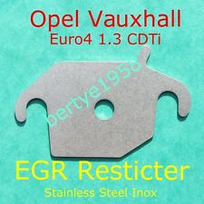 EGR Restricer plate Vauxhall Opel 1.3 CDTi Corsa Astra Meriva Combo Agila block