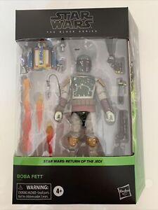 Figurine Star Wars Black Series Deluxe Boba Fett Retour Du Jedi