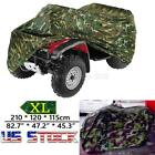 XL Camo Waterproof ATV Quad Bike Cover For Yamaha Grizzly 350 450 550 600 660 US