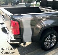 2 Truck vinyl Stripes For Chevrolet Chevy Colorado side graphics rear Decals 4x4