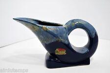PICHET ART DECO ANCIEN grès flammé bleu sur bleu souvenir St PIERRE sur Dives