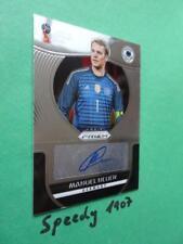 Panini PRIZM World Cup 2018 Russia Autograph Signature Neuer S-MN Auto 18
