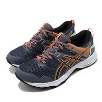 Asics Gel-Sonoma 5 G-TX Gore-Tex Grey Orange Women Running Shoes 1012A567-020