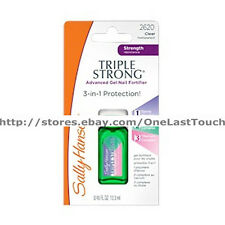 SALLY HANSEN^*Nail Polish TRIPLE STRONG Advanced Gel Fortifier STRENGTHENER 2620