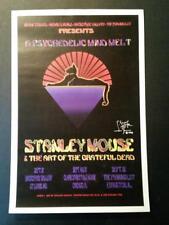 Stanley Mouse 1996 Exhibit Poster Dead & Company BGP Fillmore Alton Kelley