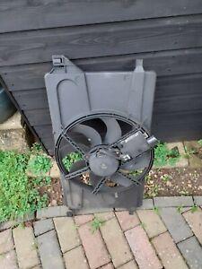 ford focus radiator fan