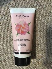 Perlier Pink Peony 3.4 Fl Oz Hand Cream 100ml Sampled Twice 98% Full Vintage