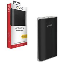 12000mah Zagg USB Power Bank External Battery Charger Pack