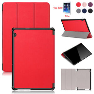 Magnetic PU Leather Stand Tablet Case Cover For Huawei MediaPad T5 10.1'' +Film