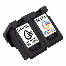 2x PG540XL CL541XL Negro Tricolor Cartuchos de tinta Para Canon Pixma MG4200