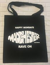 Happy Mondays - Madchester - Black Tote/Shopper Bag