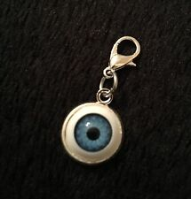 3D bola mal de ojo pulsera bisutería forma Clip Suerte Protección Steampunk Rockabilly cameo