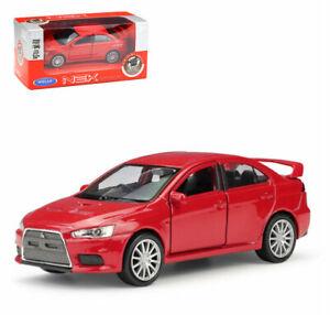 Welly 1:36 Mitsubishi Lancer Evolution X Diecast Model Car Toy New in box