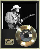 """Stevie Ray Vaughan """"Pride And Joy"""" Record Display Wood Plaque"""