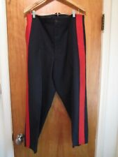 Post Ww2, c 1949, Usmc, Us Marine General's Dress Blues Pants, Named!