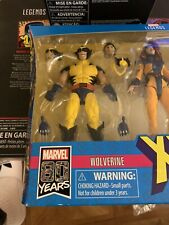 MARVEL LEGENDS WOLVERINE LOOSE X-MEN LOVE TRIANGLE 3 PACK HASBRO (GREAT PAINT!)