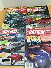 "1980's Vintage Hot Rod Magazines ""Lot of 4"" 1985 1983 June Aug Sept July"