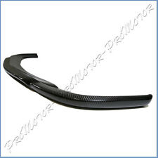 Fit BENZ 02-06 W209 CLK55AMG Front Bumper Carbon Fiber CL Look Extened Lower Lip