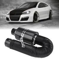 Kit Universale 3'' Fibra Di Carbonio Filtro Aria Aspirazione Diretta Tubo Auto